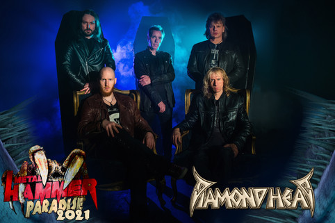 Diamond Head at Metal Hammer Paradise 2021