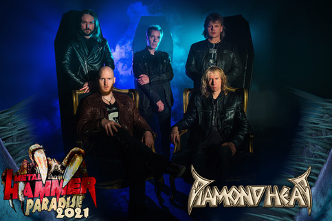 Diamond Head at Metal Hammer Paradise 2021