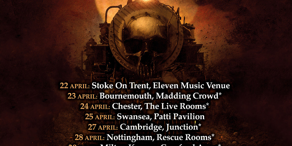 Diamond Head as special guests at the Barrowlands with Saxon