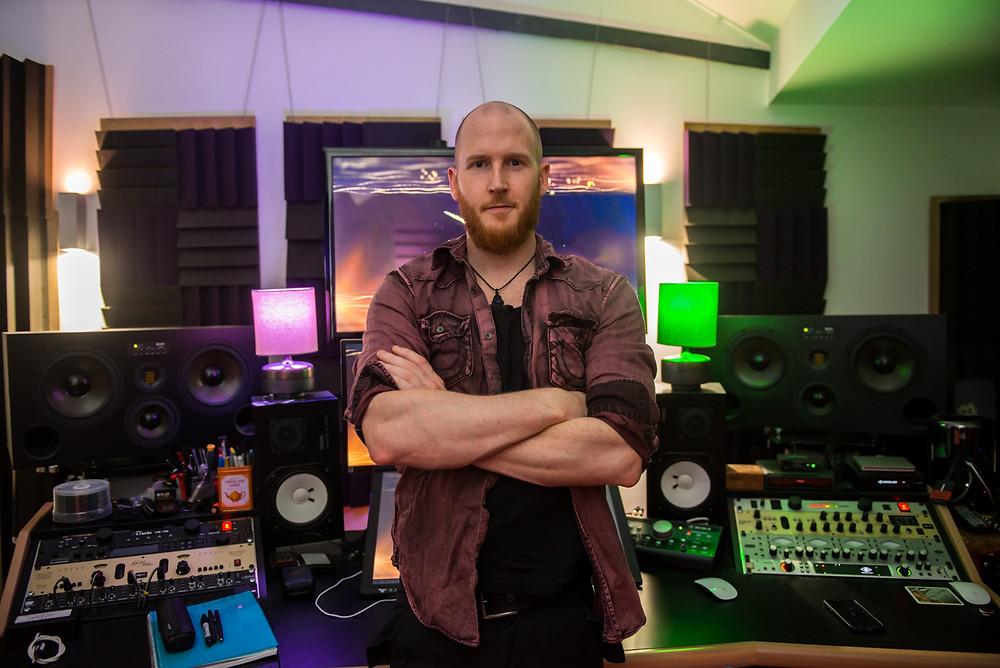 Rasmus Bom Andersen, Diamond Head, The Coffin Train, Producer, Recording Studio, Silver Lining, Metal,