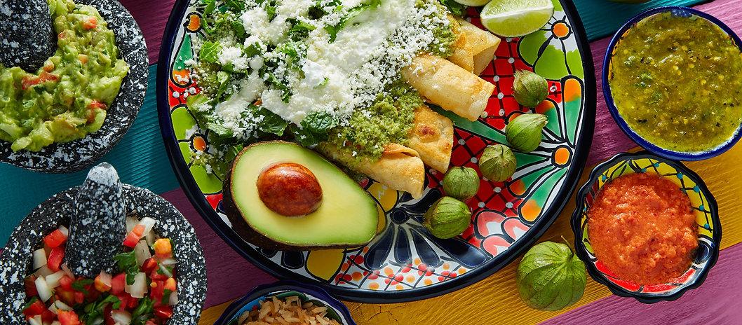 La Fonda Mexican Kitchen homepage banner
