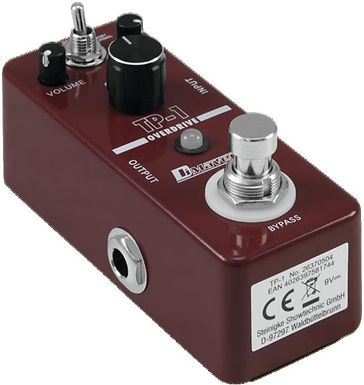 OVERDRIVE+BOOST PEDAL