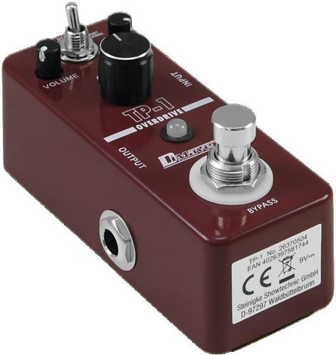 Overdrive.booster pedal Dimavery TP1