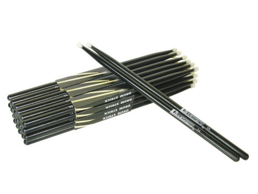 DIMAVERY DS-5A Drumsticks,maple, black