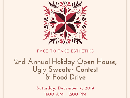 Holiday Open House & Food Drive