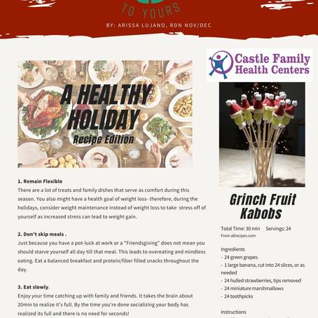 Nov/ Dec 2020 Newsletter