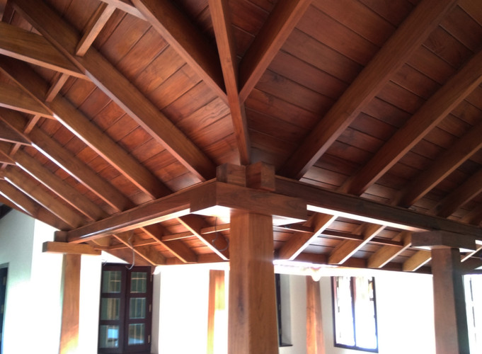 Timber Roof Detail