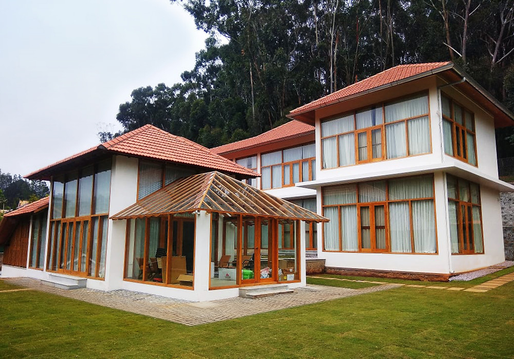 Sridhar House in Conoor designed by Benny Kuriakose