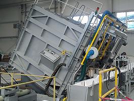 камерная печь на ВСМПО-АВИСМА, термообрабока для авиации AMS2750E