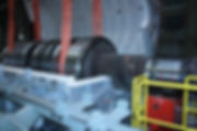 установка тепловых испытаний роторов КЕРАТЕХ на ОМЗ Спецсталь
