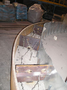 крышка стенда сушки и разогрева ковшей