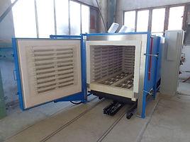 камерная нагревательная печь для титана на ВСМПО-АВИСМА для авиации AMS2750E