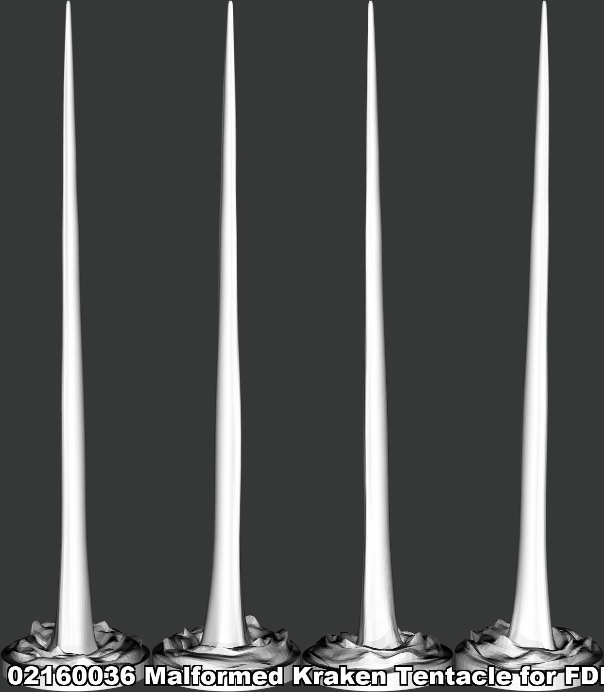 02160036 Malformed Kraken Tentacle for F