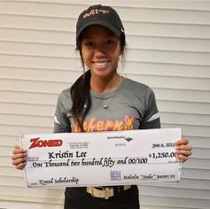 Kristen Lee Receives Scholarship