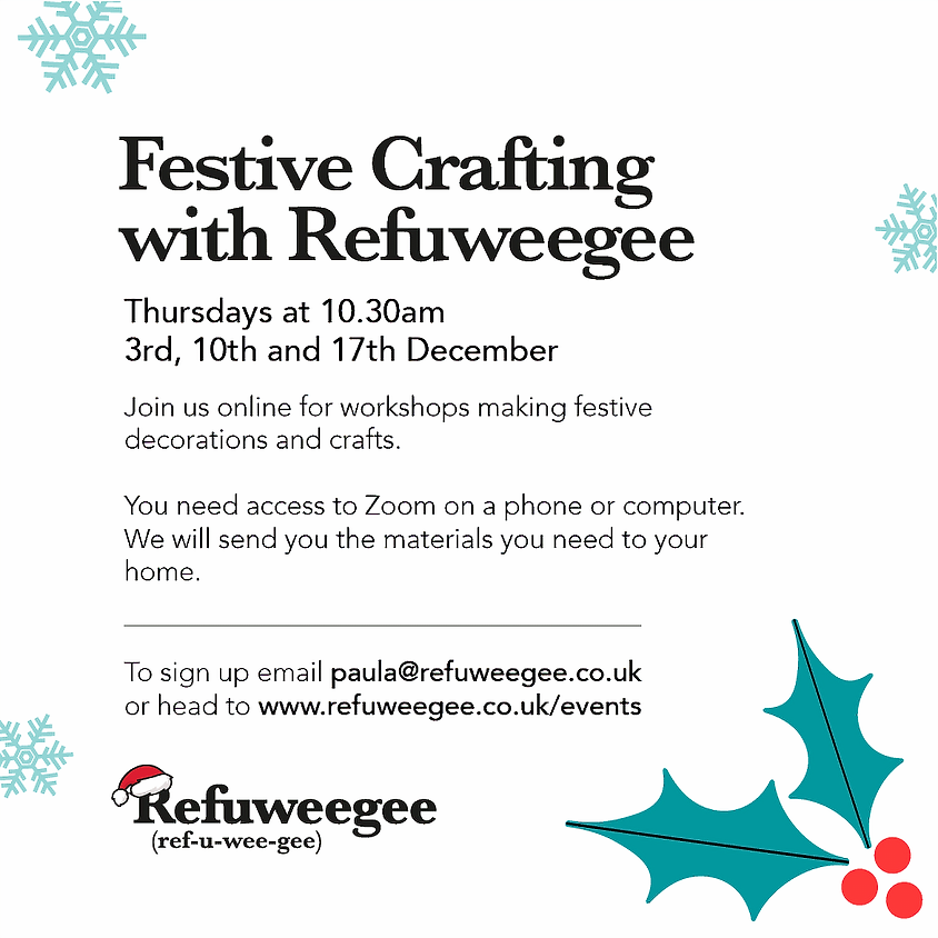 Festive Crafting with Refuweegee