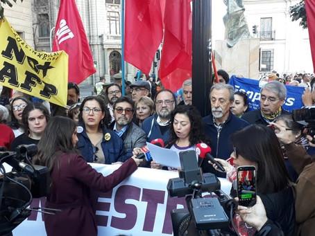 5 de septiembre organizaciones sociales convocan a jornada de protesta nacional