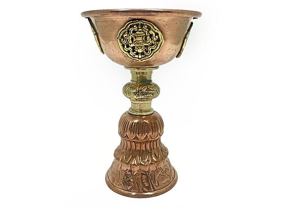 Incensario de bronce