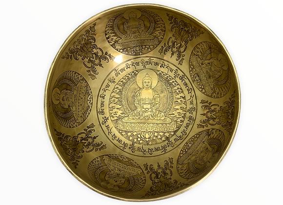 Cuenco labrado - Buda