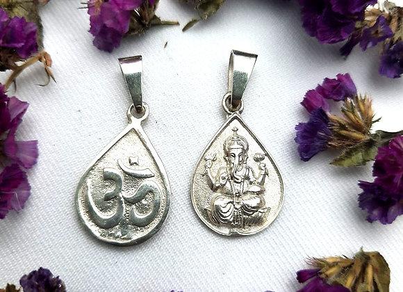 Ganesha/OM plata .925