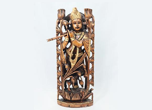 Krishna de Madera