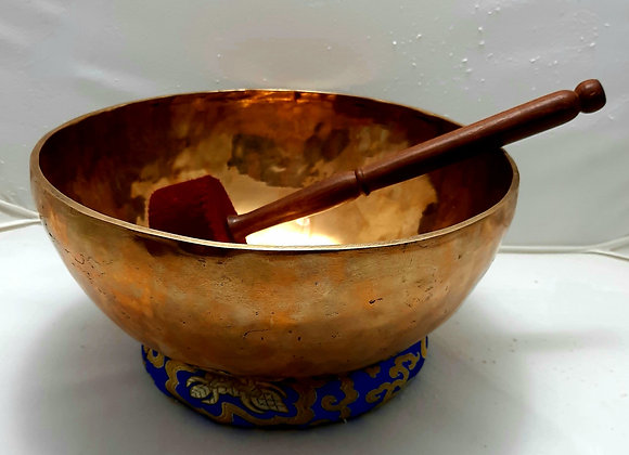 Cuenco Tibetano de 7 metales  27 cm