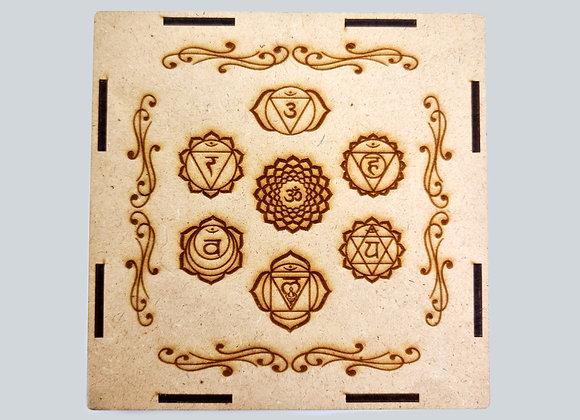 Set de los 7 Chakras con Estuche