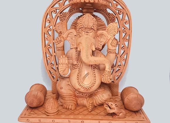 Ganesha De Madera