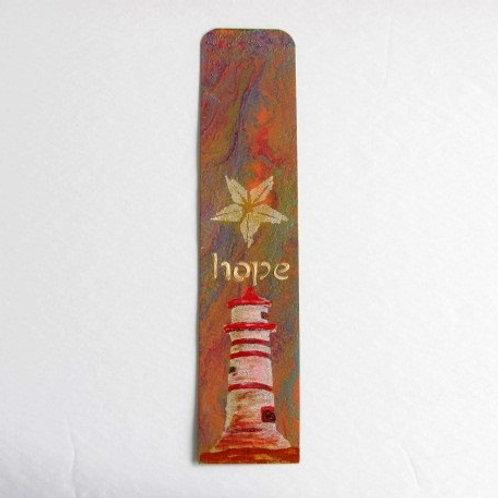 MM Bookmark - Hope (lighthouse)