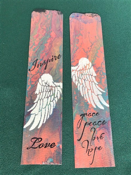 MM Bookmark - Inspiring Words (wings)