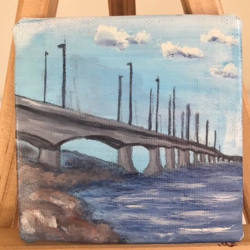 Mini Magnetic Painting - Confederation Bridge