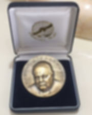 Churchill Fellowship Medallion