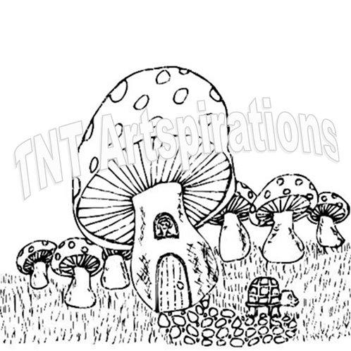 Mushroom Turtle House