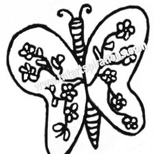ButterflyFlowered Set of 2