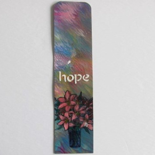 MM Bookmark - Hope (lilies)