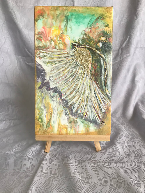 Transformation - original acrylic/mixed media