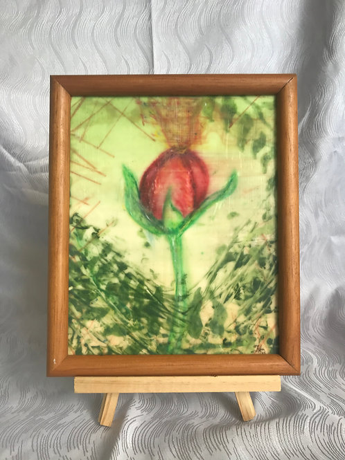 Steadfast - original encaustic (hot wax)