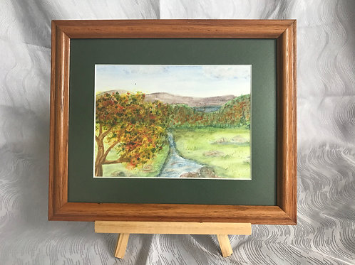 Autumn Dreams - original watercolor