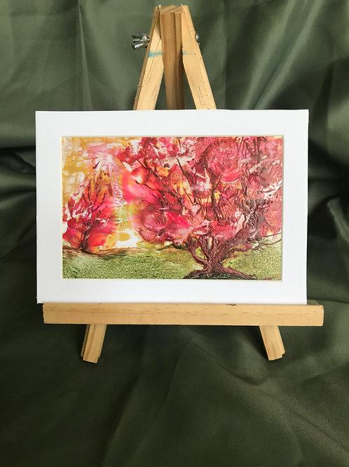 Vibrant Warmth - Encaustic Painting