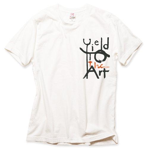 Yield to the Art T-shirt - orange