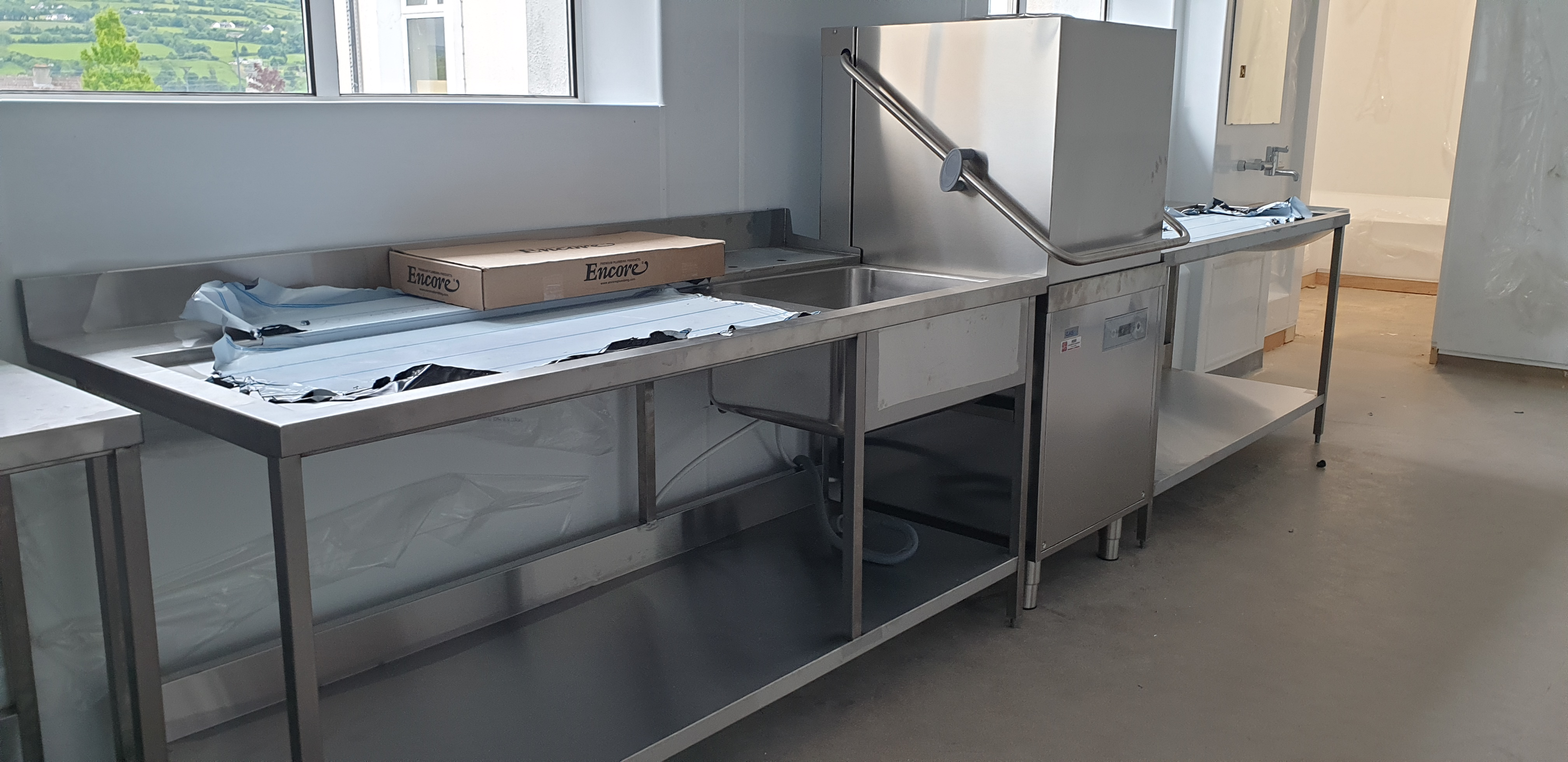 Classeq Dishwash Entry Table
