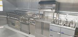 Bar Kitchen Cooking Line