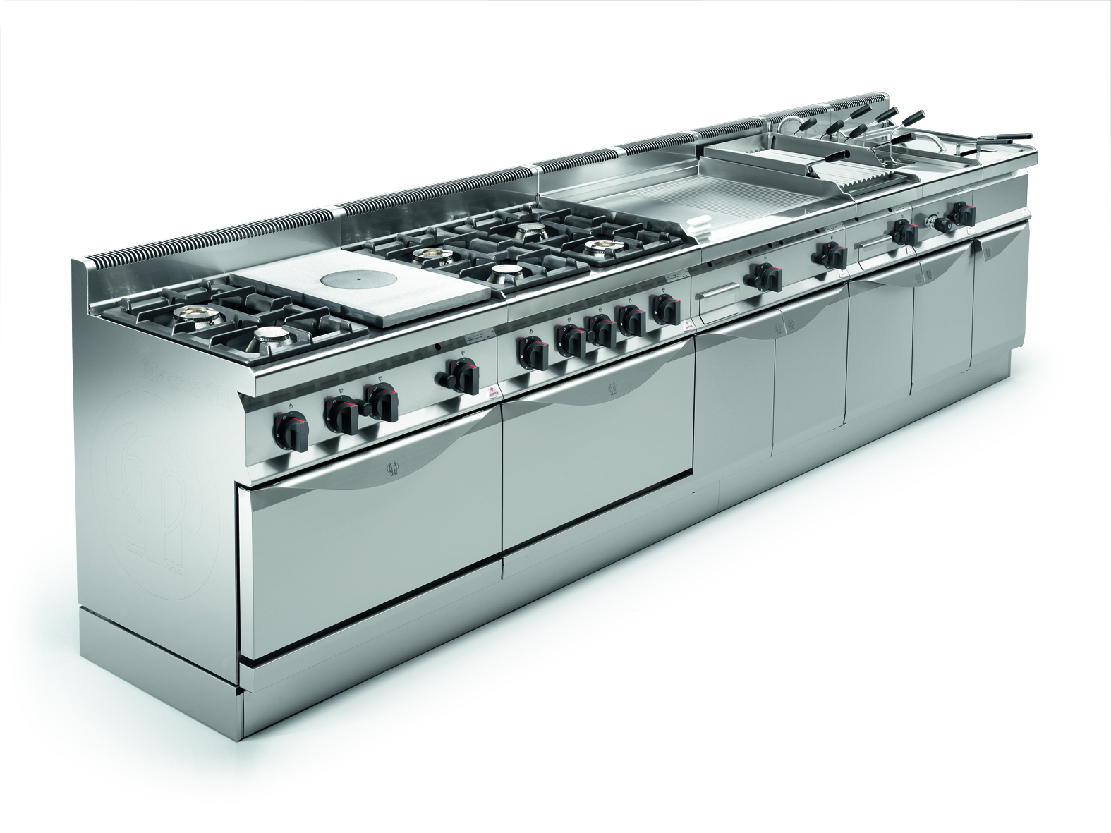 Berto's 700 Series Gas with ovens