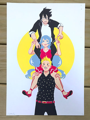 Senpais Screen Print