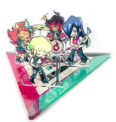MAD BURNISH Band Stage / LED Standee