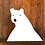 Thumbnail: Polar Bear Vinyl Sticker