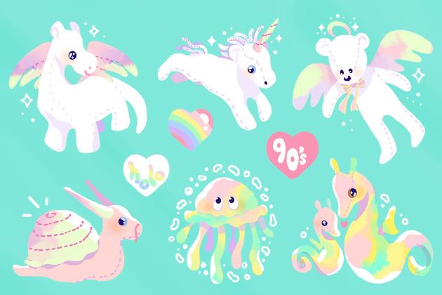 Bean Babes Sticker Sheet