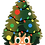 Thumbnail: Christmas Deku Sticker