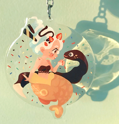 NEW! Ice Cream Mermaid Charm
