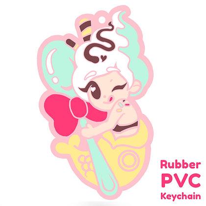Meru Yummy! PVC Keychain / Rubber Strap