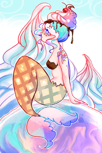 Ice Cream Mermaid